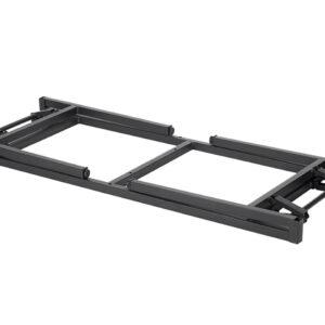 |  Stół bankietowy 120x80cm plus obrus 200x160cm - zestaw