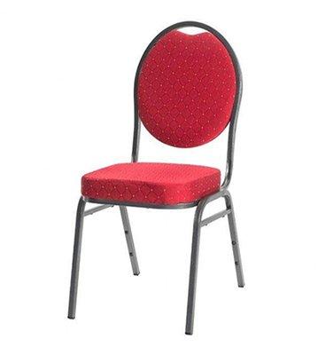   Krzesło bankietowe Wenecja kolor czerwony