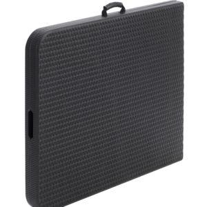 |  Stół cateringowy prostokątny walizka 180x76cm rattan