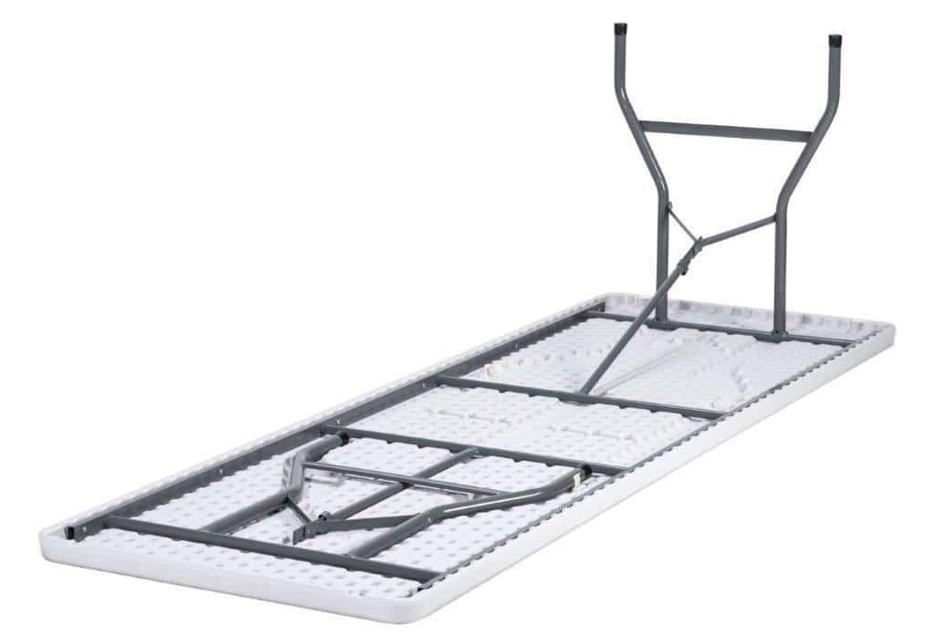 Bardzo dobra Stół cateringowy prostokątny 200x90cm biały - krzeslaonline.pl KN01