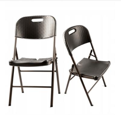 |  Krzesło cateringowe ogrodowe rattanowe składane Ratan