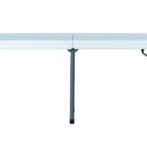 |  Ławka cateringowa składana biała 180x30cm