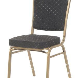 |  Krzesło bankietowe Rzym czarne 20x20x1,0