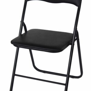 |  Krzesło składane biurowe cateringowe Black