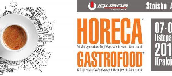 BANKIETOWO na Targi Wyposażenia Hoteli i Gastronomii HoReCa w Krakowie 7-9 listopada 2018