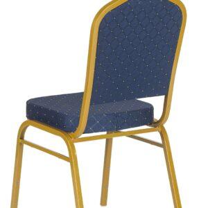 |  Krzesło bankietowe Rzym niebieskie 20x20x1,0