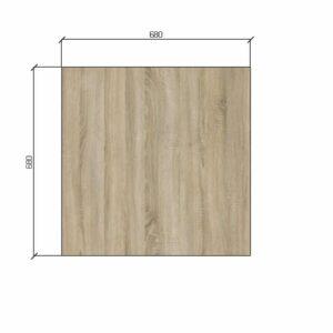 |  Stół kawiarniany kawowy barowy ARP179 - kwadratowy levkas