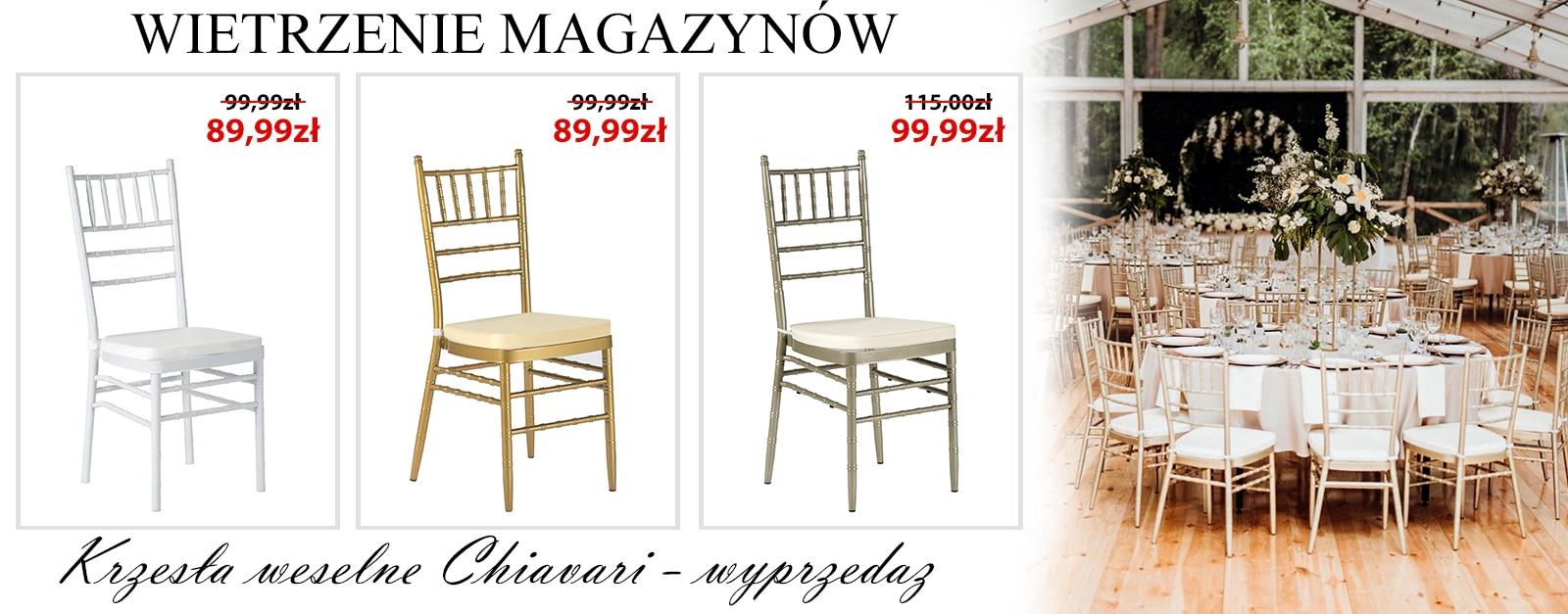 Krzesła I Stoły Bankietowe Meble Cateringowe