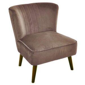 |  Fotel kawiarniany uszak brązowy