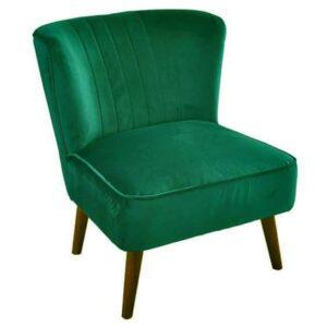 |  Fotel kawiarniany uszak zielony