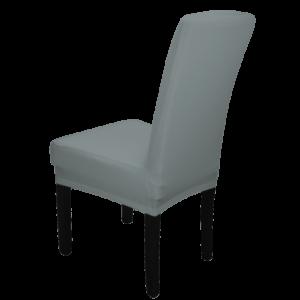 |  Pokrowiec na krzesło SZARY elastyczny uniwersalny