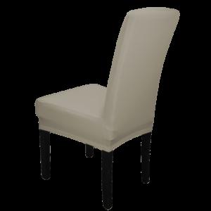 |  Pokrowiec na krzesło BEŻOWY elastyczny uniwersalny