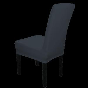 |  Pokrowiec na krzesło GRAFITOWY elastyczny uniwersalny