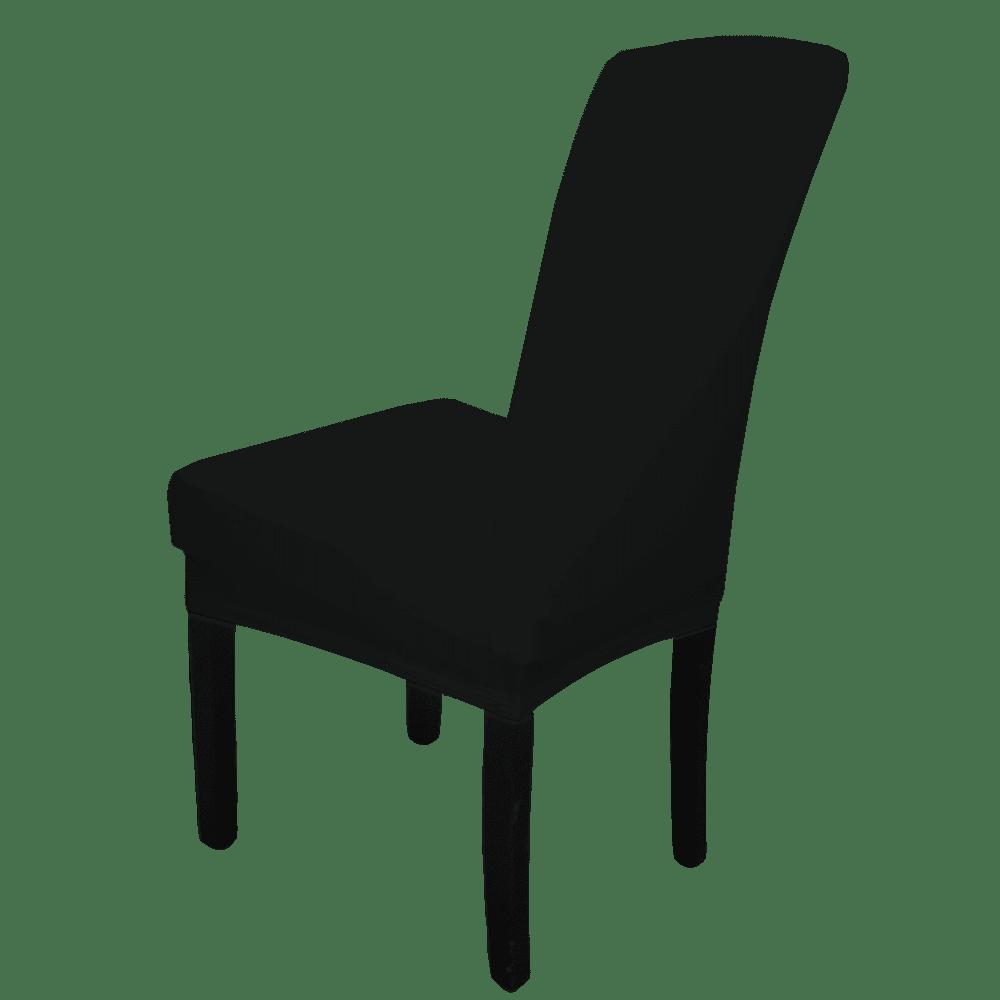 Pokrowiec Na Krzesło Czarny Elastyczny Uniwersalny Krzeslaonline Pl