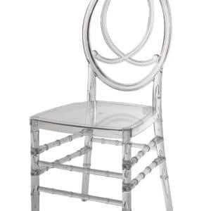 |  Krzesło weselne bankietowe Phoenix PP – przezroczysty