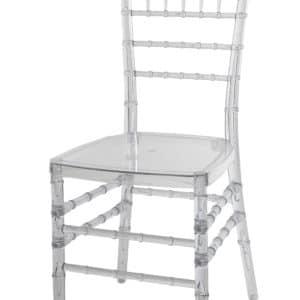 |  Krzesło weselne bankietowe Chiavari PP – przezroczysty