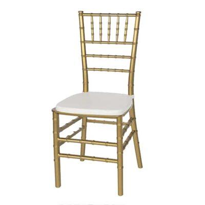 |  Krzesło weselne bankietowe Chiavari PP – złoty