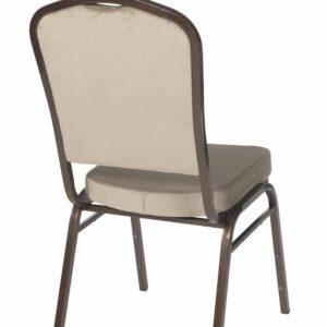 |  Krzesło bankietowe welurowe 20x20x1,0 beżowe
