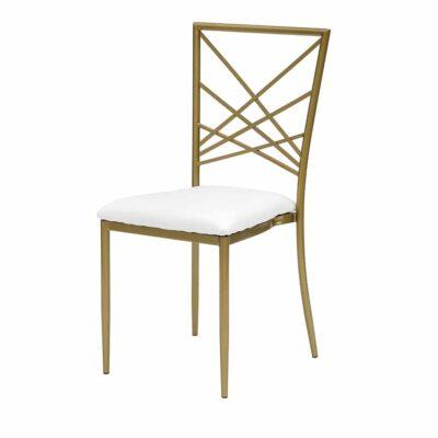 |  Krzesło weselne bankietowe Chameleon – złoty