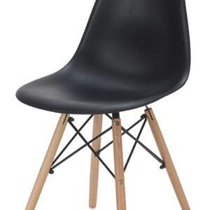 |  Krzesło nowoczesne Modena - czarne