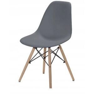|  Krzesło nowoczesne Modena - szare