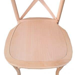 |  Krzesło rustykalne Boho drewniane – naturalny buk | krzeslaonline.pl