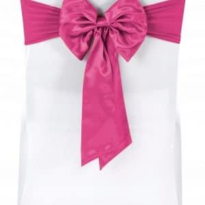 |  Kokarda elastyczna kolor różowy | krzeslaonline.pl