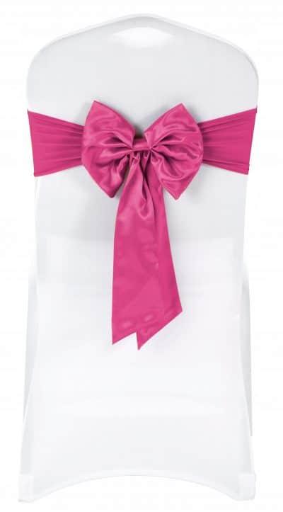    Kokarda elastyczna kolor różowy   krzeslaonline.pl
