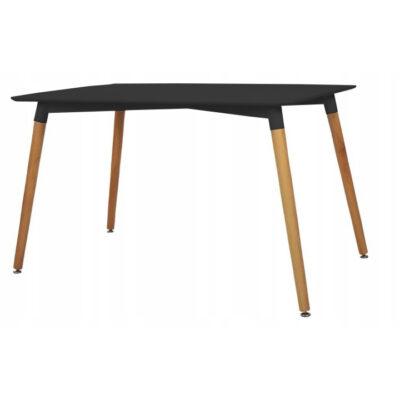 |  Stół stolik skandynawski Modena czarna Dsw 120x80cm | krzeslaonline.pl